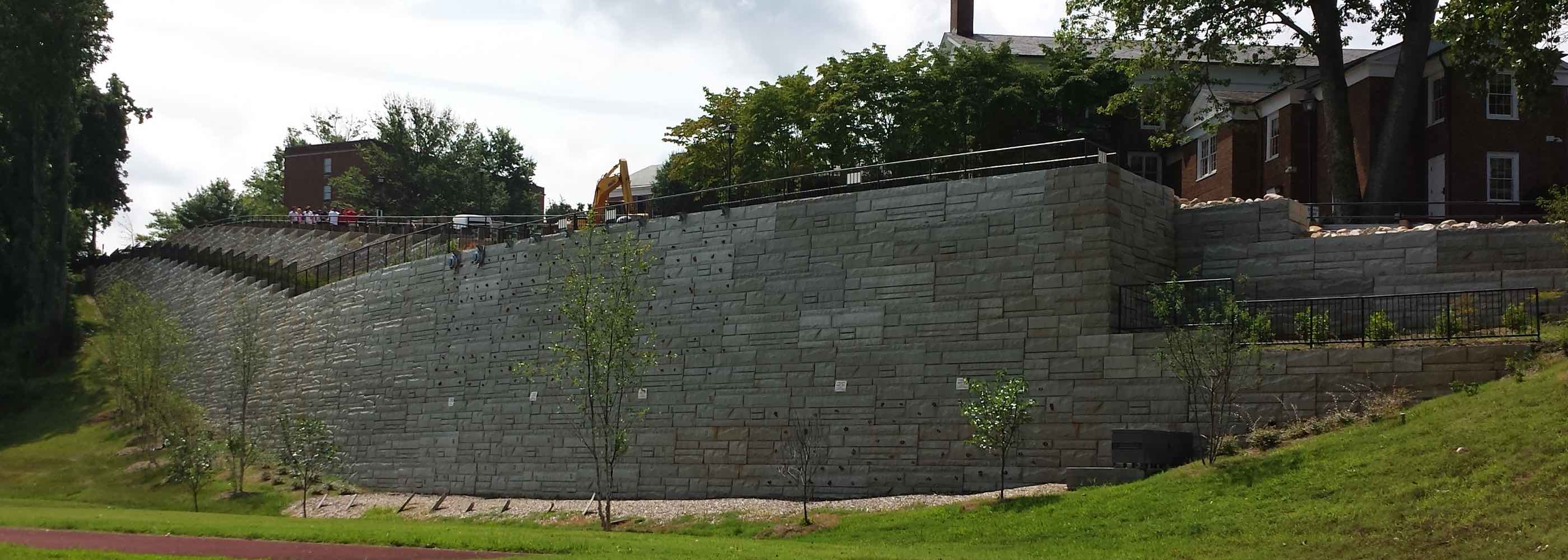 Lynchburg College - Finished Wall